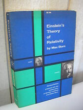 Max Born : EINSTEIN'S THEORY of RELATIVITY 1962