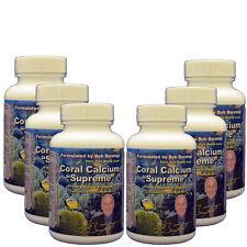 Coral Calcium Supreme 6 - 90ct Bottles