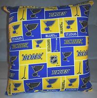 Blues Pillow St Louis Blues Pillow NHL Handmade in USA Pillow