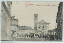 CARTOLINA GALLARATE PIAZZA VITTORIO EMANUELE II E IL DUOMO 812/A