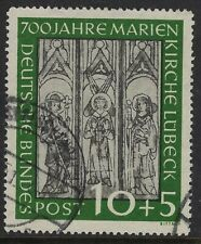 Germany Scott B316 / Michel 139: 10+5pf Marienkirche Lubeck 700th year, VF-CDS