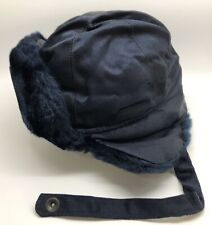 Kings Point Mfg Genuine Issue Coast Guard Cold Weather Cap Hat; Sz 7.25 (Rf1058)