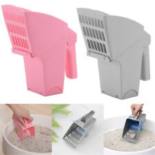 Cat Litter Scoop Box Sand Shovel Scooper Sifter Pet Cleaning Tool w/ Waste Bag