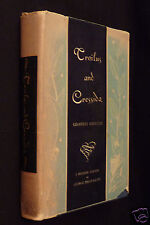 Troilus and Cressida, A Love Poem In Five Books, Geoffrey Chaucer, 1932, HC DJ