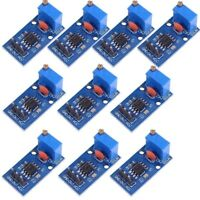 10Pcs NE555 Pulse Generator Module Frequency Adjustable 5-12V 29x12mm