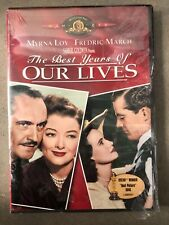 New Sealed The Best Years Of Our Lives Dvdw/ Booklet - Myrna Loy Frederic March