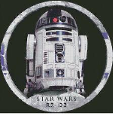 Cross stitch chart, pattern. R2D2, Star Wars, Droid, Empire Strikes Back.