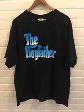 Vintage The Doggfather Snoop Dog Bootleg T-Shirt Black Men's XL Hip Hop Rap Tee