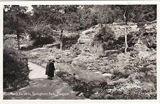 Rock Gardens, Springburn Park, GLASGOW, Lanarkshire RP