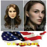 KIMI KT008 1/6 Natalie Portman female head for SUNTAN Phicen ❶US SELLER❶