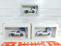 BX365-0,5# 3x Wiking 1:87/H0 Renntruck Mercedes: 441 01 + B 6.600.0003, NEUW+OVP