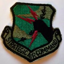 """UNITED STATES  AIR FORCE  """"STRATEGIC AIR COMMAND"""" PATCH   3"""" wide x 3"""" tall"""