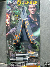 Gerber Bear Grylls Survival Multi Tool Pack 31-001047 Plier Scissors Torch knife