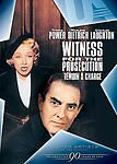 Witness for the Prosecution (Dvd, 2008, Canadian Ua/Afi O-Ring)