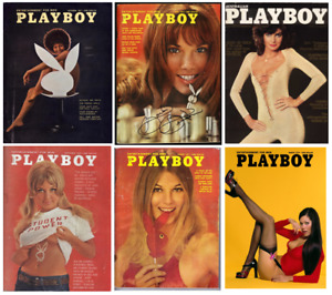 VINTAGE PLAYBOY 1970's 70 fashion magazine cover print/poster A4/A3