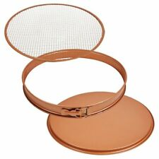 "Copper Chef 3 Piece 12"" Perfect Pizza & Crisper Pan Set - As Seen On TV"