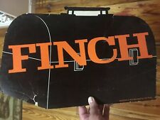 Cliff Finch Governor Mississippi Lunchbox Cardboard Sign