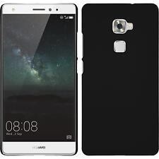 Custodia Rigida Huawei Mate S - gommata nero + pellicola protettiva