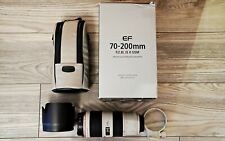 Canon EF 70 - 200 F2.8L IS II USM - white, great condition!