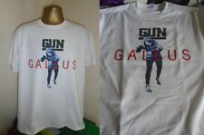 GUN- GALLUS- EXCELLENT 1992 ALBUM  SLEEVE ART PRINT T SHIRT- WHITE- LARGE