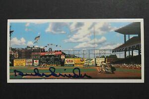 Duke Snider Brooklyn Dodgers (d.2011) Autographed Signed Flatbush 3x6 Postcard