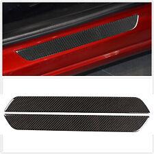 Soft Carbon Fiber Door Sill Protector for Tesla model 3 Y 2017-2020 Accessories