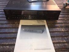 Vintage Technics Stereo AM FM Receiver Amplifier SA-160
