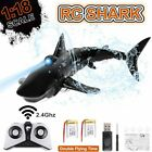 2.4Ghz Electronic Shark Remote Control Simulation Shark Fish RC Boat Prank Toys