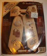 Noah's Ark THE ARK Front Door Bow Counted Cross Stitch Kit by Debbie Mumm #72298