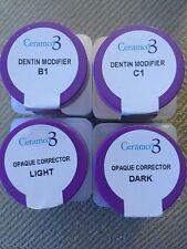 Ceramco 3 Densply--Powder Opaque Corrector & Modifier--B1-C1-Dark-light. Salmon