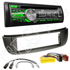 JVC KD-R453E USB CD Radio Nissan Almera Tino Blende+ISO Adapter+Antenne Stecker