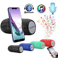 Tragbarer drahtloser Bluetooth Stereo SD Karte FM Lautsprecher für Smartphone