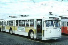 Seattle Metro Twin Coach Trolleybus Kodachrome original Kodak Slide
