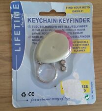 KEY FINDER LOCATOR FIND LOST KEYS CHAIN KEYCHAIN whistle new
