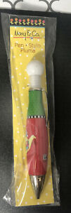 MARY ENGLEBREIT & CO CHRISTMAS NOT A CREATURE WAS STIRRING INK PEN BRAND NEW HTF