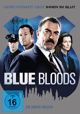 6 DVDs * BLUE BLOODS -  SEASON / STAFFEL 2 - Tom Selleck ~ MB # NEU OVP +