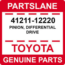 41211-12220 Toyota OEM Genuine PINION, DIFFERENTIAL DRIVE