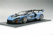 Top Speed TSM McLaren Senna Mira Limited 1/18 Scale Resin Car Model Toy BLUE