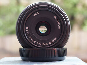 Olympus 25mm f2.8 Lens for Four Thirds & Micro Four Thirds