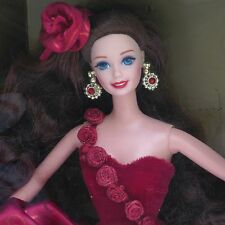 Radiant Rose Barbie Doll 1996 Society Style Collection Toys 'R Us Exclusive