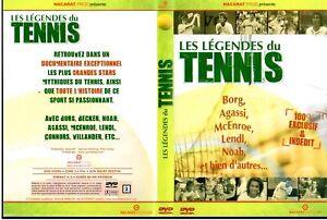 DVD Les Legendes du Tennis   Sport   <LivSF>   Lemaus