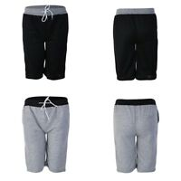 Men's Gym Sport Jogging Cotton Shorts Pants Trousers Casual Half Pants Plus Size