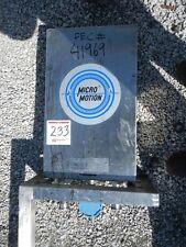 MICRO MOTION FLOW METER, S/S (41969)
