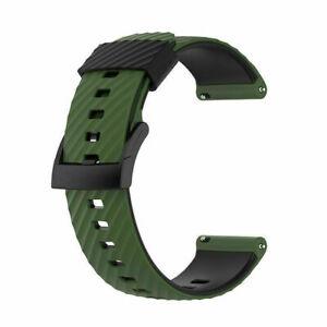 For Suunto 7/9 Baro/D5/Spartan Sport Wrist HR Silicone Watch Band Wrist Strap