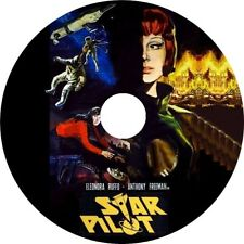 Star Pilot (1966 Italian Sci-Fi film in dubbed English) Mod Dvd disc only