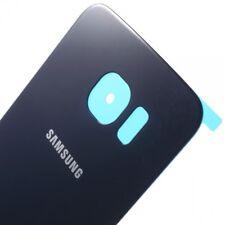 Vitre Arriere Samsung Galaxy S 6 Edge - Bleu - Adhesif Inclus - Envoi en Suivi