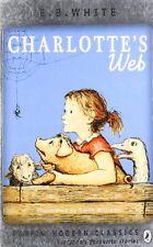 Charlotte's Web (Puffin Modern Classics) By E. B. White, Garth  .9780141329680
