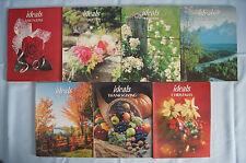 Ideals magazine book 1981 set of 7 Easter Christmas Valentine Thanksgiving GUC