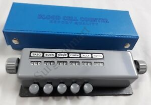 Blood Cell Counter 5 Key Lab Equipment Free Shipping