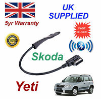 Skoda Yeti 2009+ Bluetooth Music Module, For iPhone HTC Nokia LG Sony Galaxy